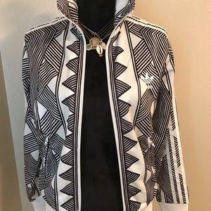 Adidas Jacket black and white design